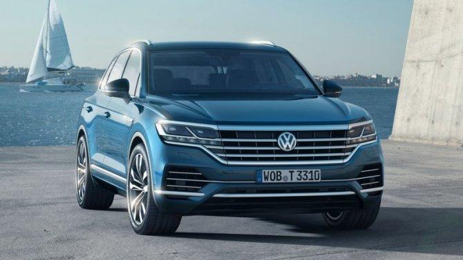 ВРоссии появилась новая версия Volkswagen Touareg