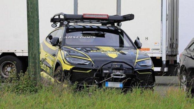 Lamborghini Urus получил спасательную модификацию