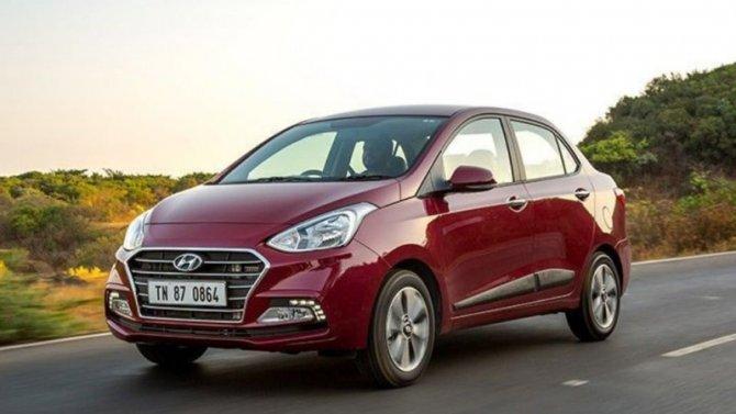 Концерн Hyundai подготовил новый компактный седан