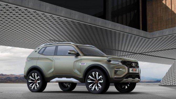 «АвтоВАЗ» запатентовал интерьер преемника Lada 4×4