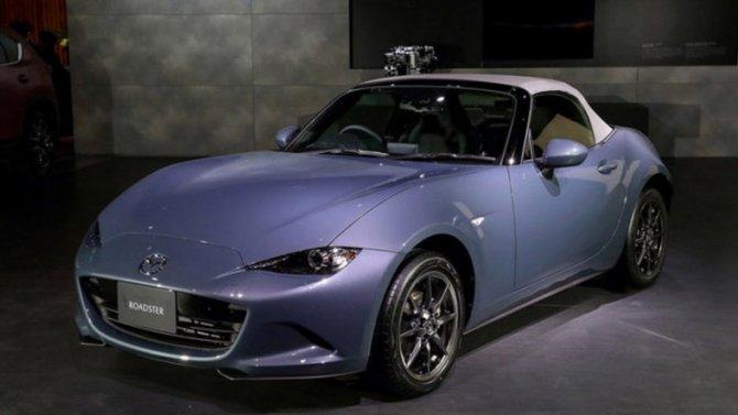 Обновлён спорткар Mazda Roadster