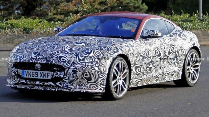 Рестайлинговый Jaguar F-Type: скоро премьера