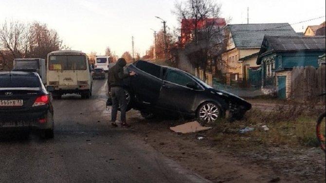 6-летняя девочка пострадала в ДТП в Коврове
