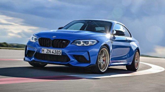 Рассекречена самая мощная версия купе BMW M2
