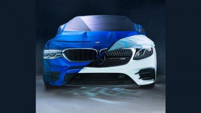 BMW иMercedes-Benz: «заклятые друзья» шутят