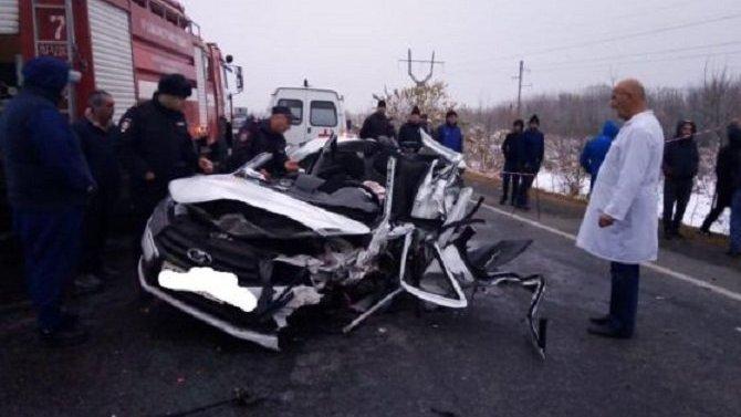 Отец с 5-летней дочкой погибли в ДТП в Северной Осетии