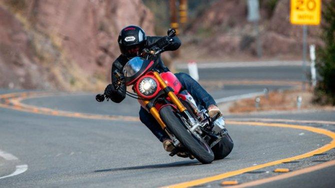 Киану Ривз представил свой новый мотоцикл