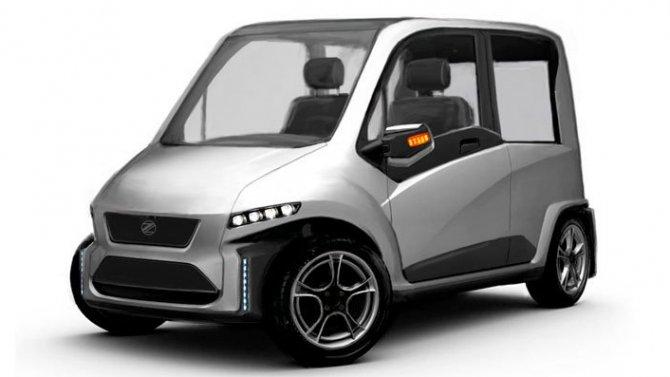 Производство первого российского электромобиля Zetta начнется в начале 2020 года: цена и подробности