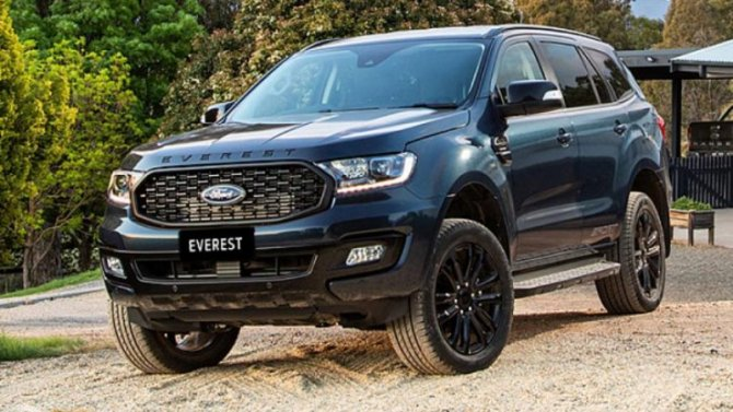 Внедорожник Ford Everest получил новую версию