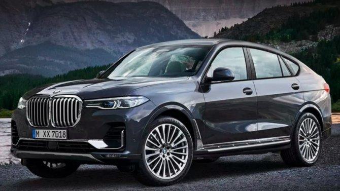Вследующем году может появиться BMW X8