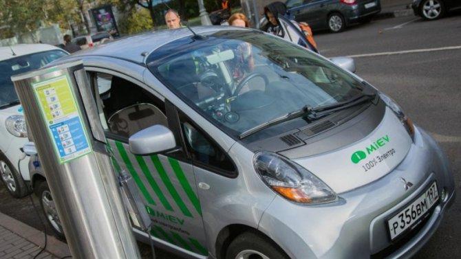 ВМоскве электромобили освободили оттранспортного налога