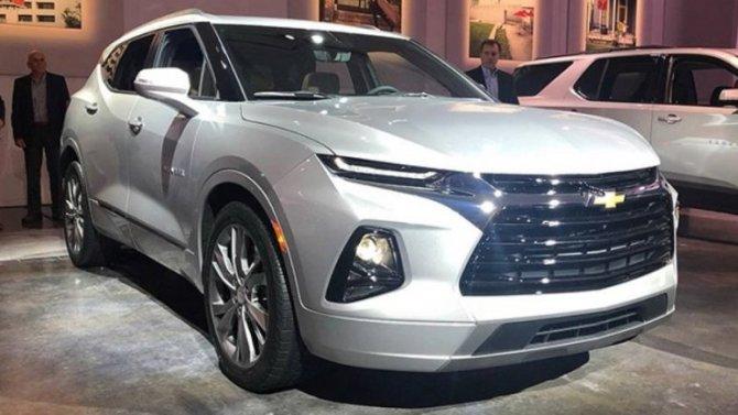 Новый Chevrolet Blazer рассекречен накануне премьеры