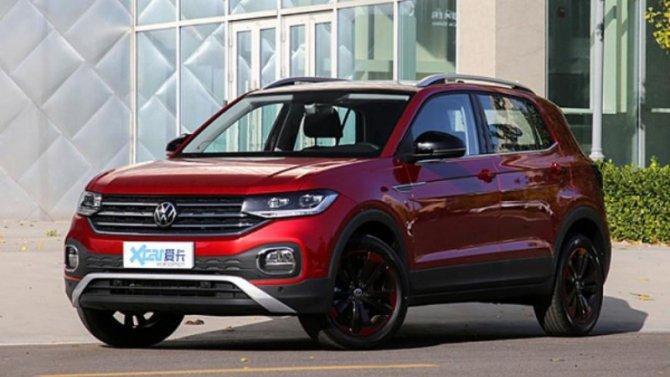 Скоро начнутся продажи кроссовера Volkswagen Tacqua
