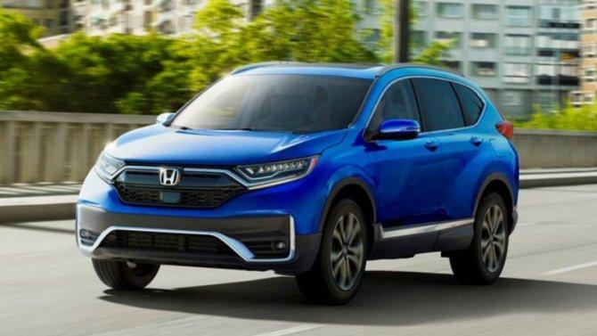Объявлены цены нановую Honda CR-V