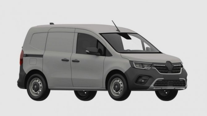 Винтернете показали обновлённый Renault Kangoo