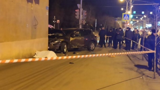 В Тамбове автомобиль насмерть сбил пешехода на тротуаре
