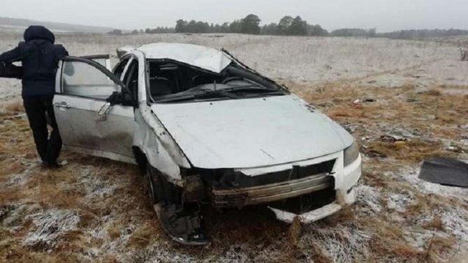 Две женщины погибли в ДТП в Башкирии