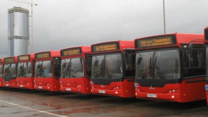 ВКазани могут встать городские автобусы - нет денег на топливо