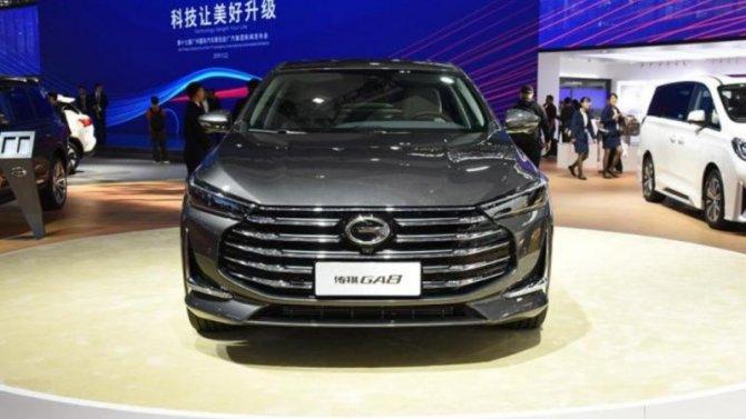 Гуанчжоу-2019: показан обновлённый флагманский седан отGAC Motor