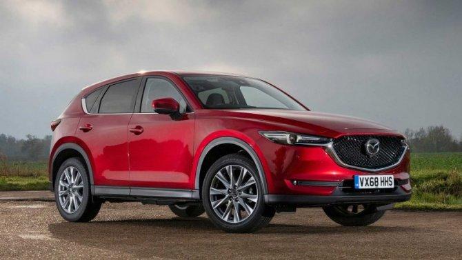 Mazda CX-5 получила спецверсию для России