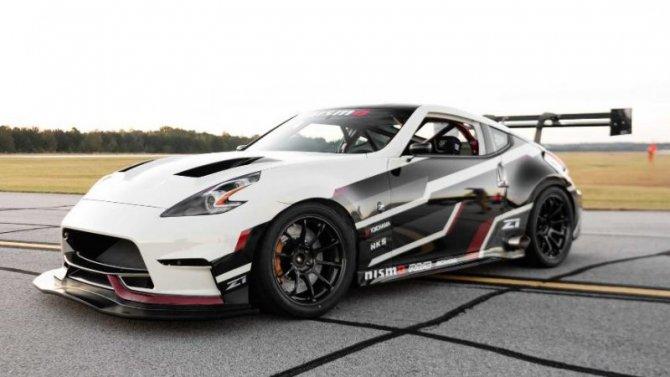 Nissan 370Z получил новую гоночную модификацию