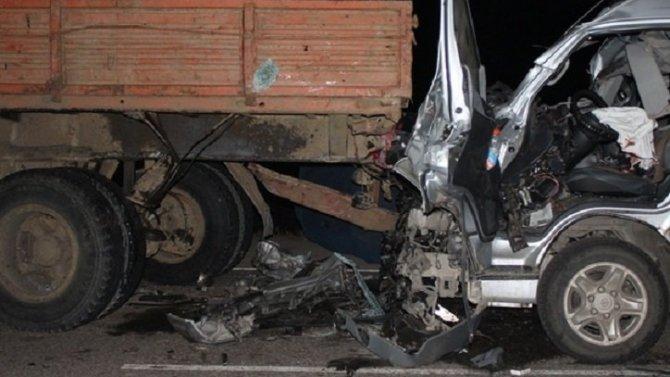 Два человека погибли в ДТП с маршруткой в Красноярском крае