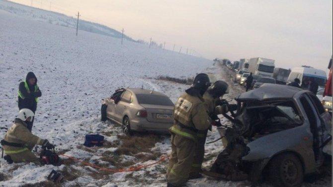 В ДТП с автобусом в Татарстане погиб человек