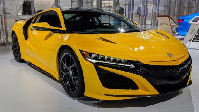 Лос-Анджелес— 2019: состоялся дебют спорткара Acura NSX