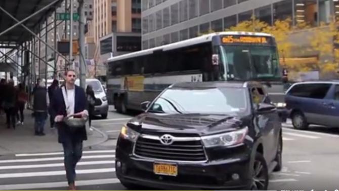 ВСША придуман клаксон для пешеходов