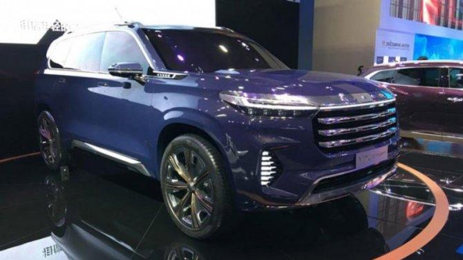 Гуанчжоу-2019: представлен премиальный концепт-кар ExeedVX
