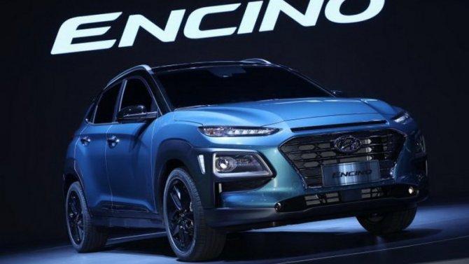 В Китае начались продажи нового электрокроссовера Hyundai Encino EV