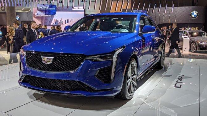 Лос-Анджелес— 2019: Cadillac показал новинку в«родных стенах»