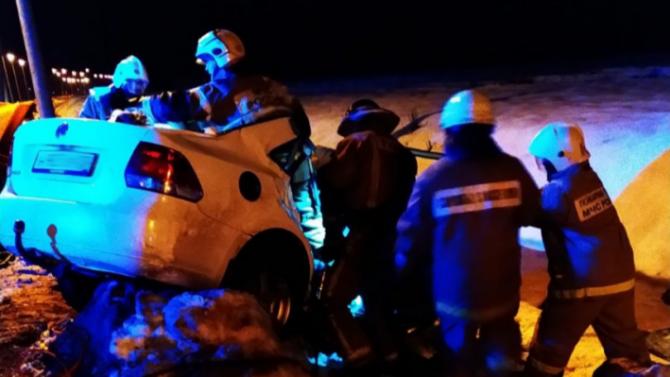 Три человека погибли в ДТП в Котласе