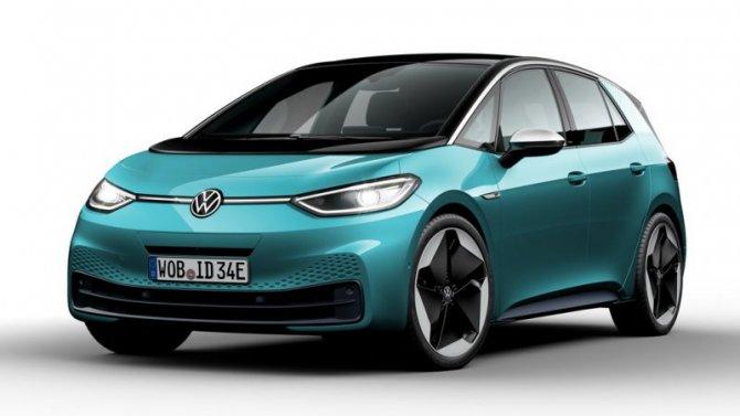 Показан электромотор для VolkswagenID.3