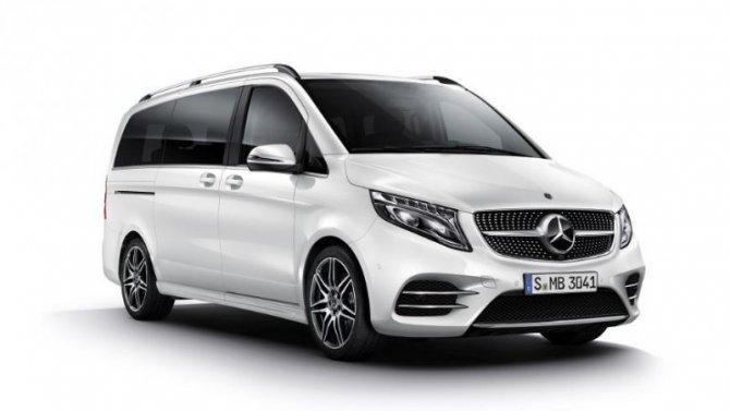 ВРоссии начаты продажи Mercedes-Benz V-Кlasse сопциями отAMG