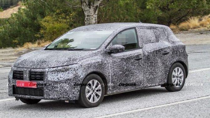 Новый Renault Sandero: появились первые данные