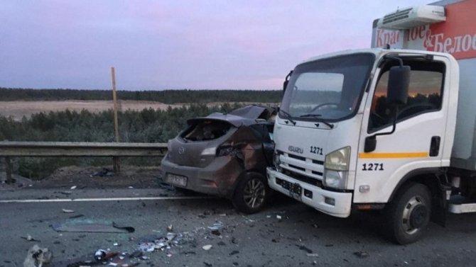 Водитель иномарки погиб в ДТП на трассе «Кола»