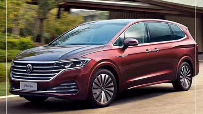 ВИнтернете рассекретили минивэн Volkswagen Viloran