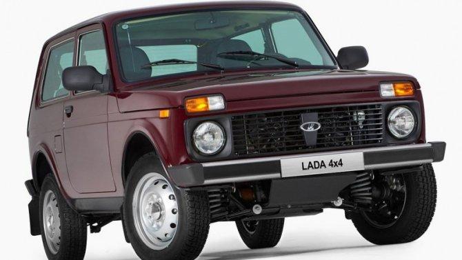 Обновлённая Lada 4×4 допущена надороги