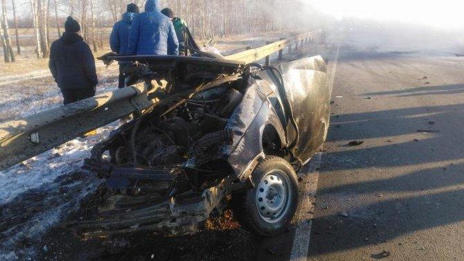 В ДТП в Башкирии погибли два человека