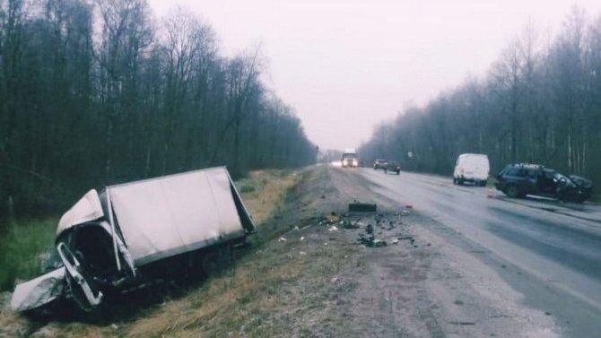 Три человека пострадали в ДТП в Волосовском районе Ленобласти