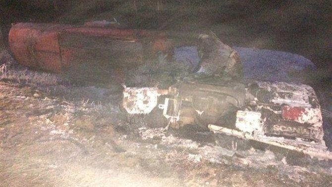 Три человека погибли в ДТП с нефтевозом под Самарой