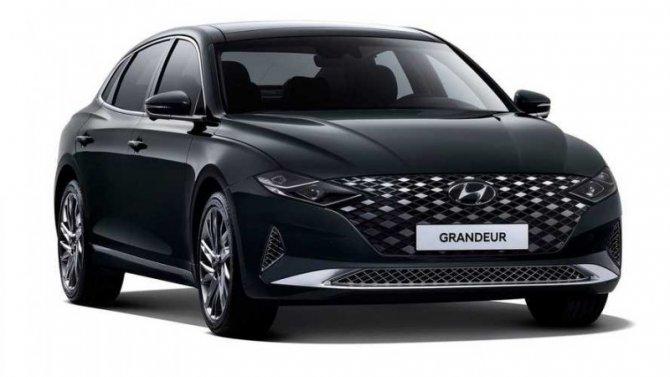 Представлен обновлённый Hyundai Grandeur