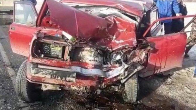 В ДТП в Уфимском районе погиб водитель ВАЗа
