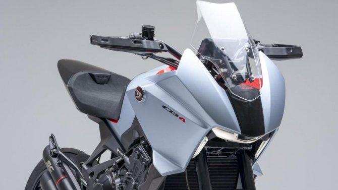 Представлен концептуальный нейкед-байк Honda CB4X