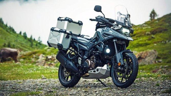Представлен новый и полностью переденный Suzuki V-Strom