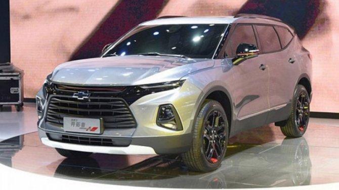 Гуанчжоу-2019: представлен 7-местный Chevrolet Blazer