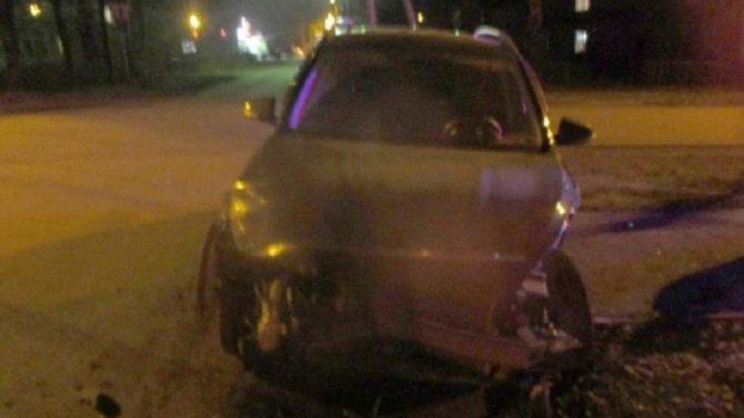 Три человека пострадали в ДТП в Узловой