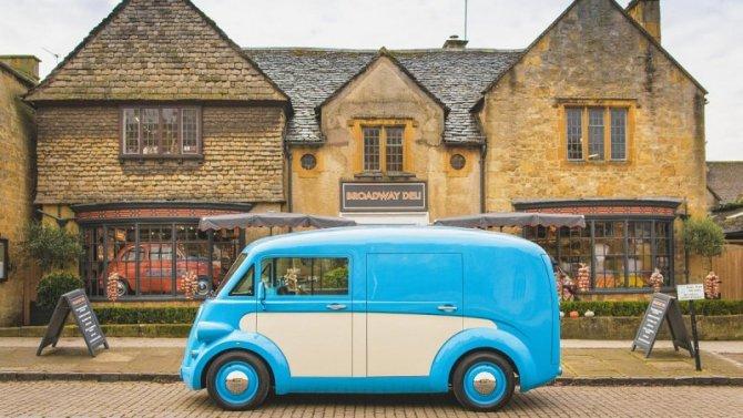Возрождена марка Morris: фургончик J-type превратили в JE