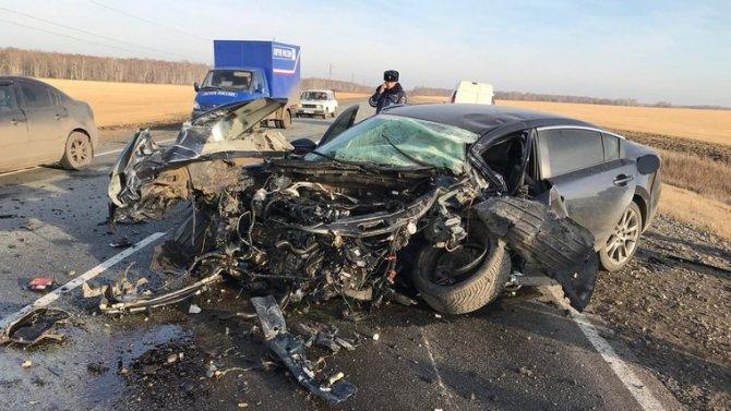 В Курганской области в ДТП погибли два человека